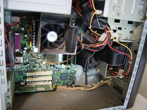 掃除前-PC本体