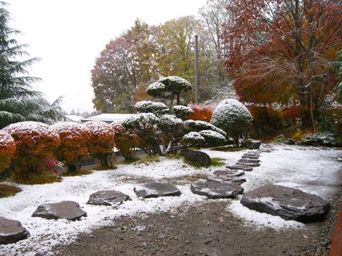 角館初雪1